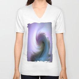 Swirled Unisex V-Neck