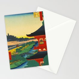 Zojoji Pagoda and Akabane Japan Stationery Cards