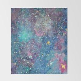 Nebula Throw Blanket