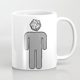 Diceman gray  Coffee Mug