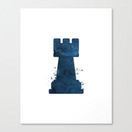 Chess Rook Canvas Print