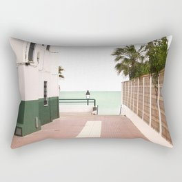 Road To The Beach - photography Rectangular Pillow