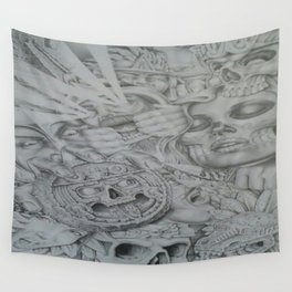 raw history Wall Tapestry
