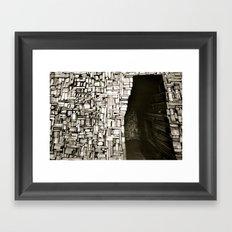 Hogar Framed Art Print