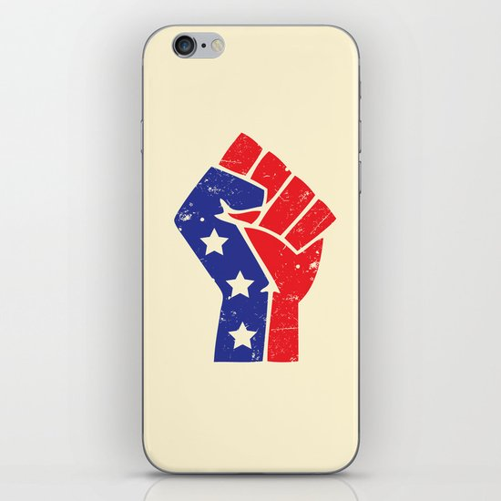 Revoltion Party Fist iPhone & iPod Skin