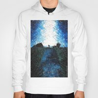 interstellar Hoodies featuring Interstellar by LucioL