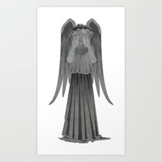 Weeping Angel - Don't Blink! Art Print