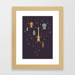 I'm like a star Framed Art Print