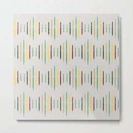 Nordic Pattern VIII Metal Print