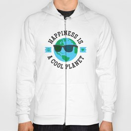 Happiness Is A Cool Planet Hoody