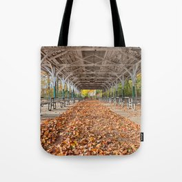 North Point Trolley Pavilion Tote Bag