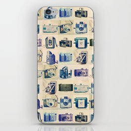 Vintage Camera Collection iPhone Skin
