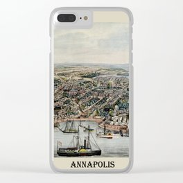 Annapolis 1864 Clear iPhone Case