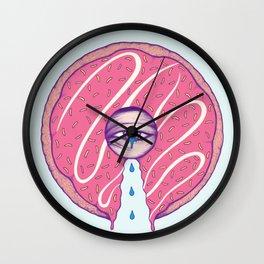 Donut Cry Wall Clock