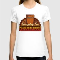 magic the gathering T-shirts featuring Everyday I'm Shuffling (No Dice Version)     Magic The Gathering by Silvio Ledbetter