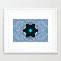 frozen Framed Art Prints featuring Frozen by Deborah Janke