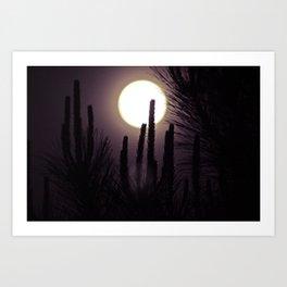 Super Moon II Art Print
