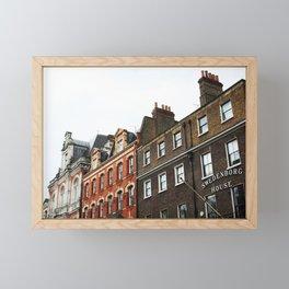 Swedenborg House, London Framed Mini Art Print