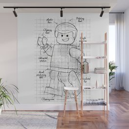 Humanoid project Wall Mural