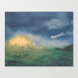 SunnySide Up - Abstract Nature Canvas Print
