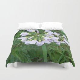 little purple flowers Duvet Cover
