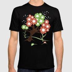 Magic Candy Tree - V2 Mens Fitted Tee MEDIUM Black
