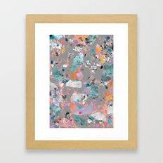 Marked Territory Framed Art Print