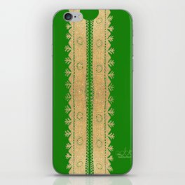 Thoub Nashil - Green  iPhone Skin