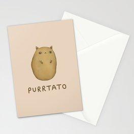 Purrtato Stationery Cards