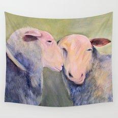 Sheep Animal Art Wall Tapestry