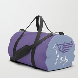 Winged dog Duffle Bag
