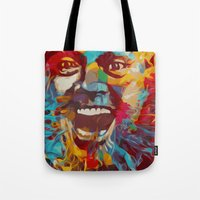 jack nicholson Tote Bags featuring jack nicholson  by zarna