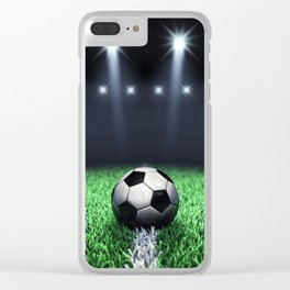 Football stadium Clear iPhone Case