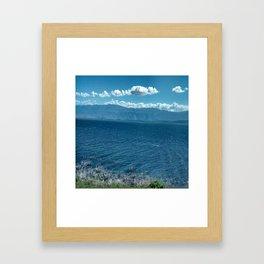 LAGO ENRIQUILLO Framed Art Print