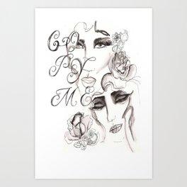 Copy Me Art Print