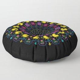 Pac-Mandala Floor Pillow