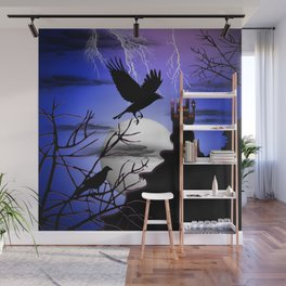 Raven's Haunted Castle Wall Mural