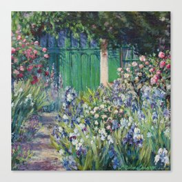 Monet's Door — Giverny, France Canvas Print