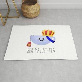 Her Majest-tea Rug