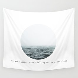 Sinking Stones Wall Tapestry