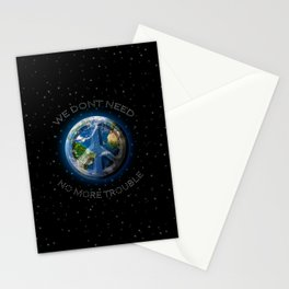 No Trouble Stationery Cards