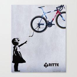 Ritte - Float Away Ace Canvas Print
