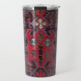 Obruk Konya Turkish  Antique Kilim Rug Travel Mug