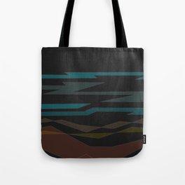 Southwest Desert Abstract Art Tote Bag