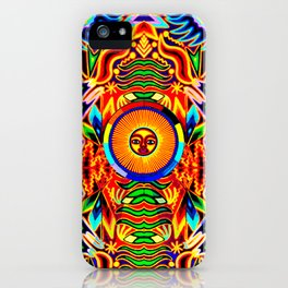 colors of the sun iPhone Case