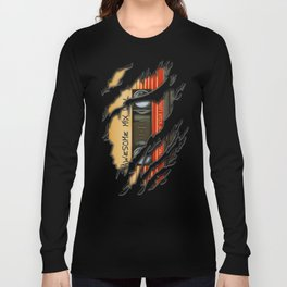 awesome transparent mix cassette tape vol 1 Long Sleeve T-shirt