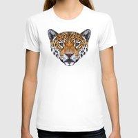 jaguar T-shirts featuring Jaguar by peachandguava