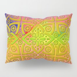 DP050-4 Colorful Moroccan pattern Pillow Sham