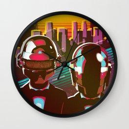 Daft Punk 1 Wall Clock