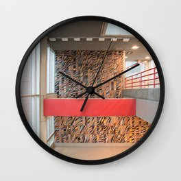 Detroit People Mover Art Broadway Wall Clock